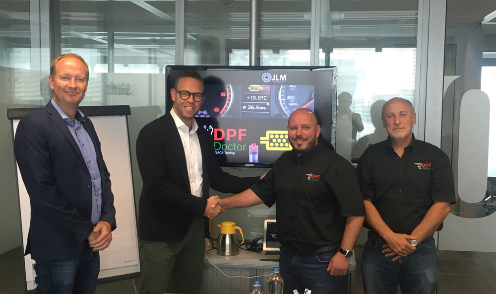 DPF Doctor and JLM Lubricants team up to accelerate business network growth.