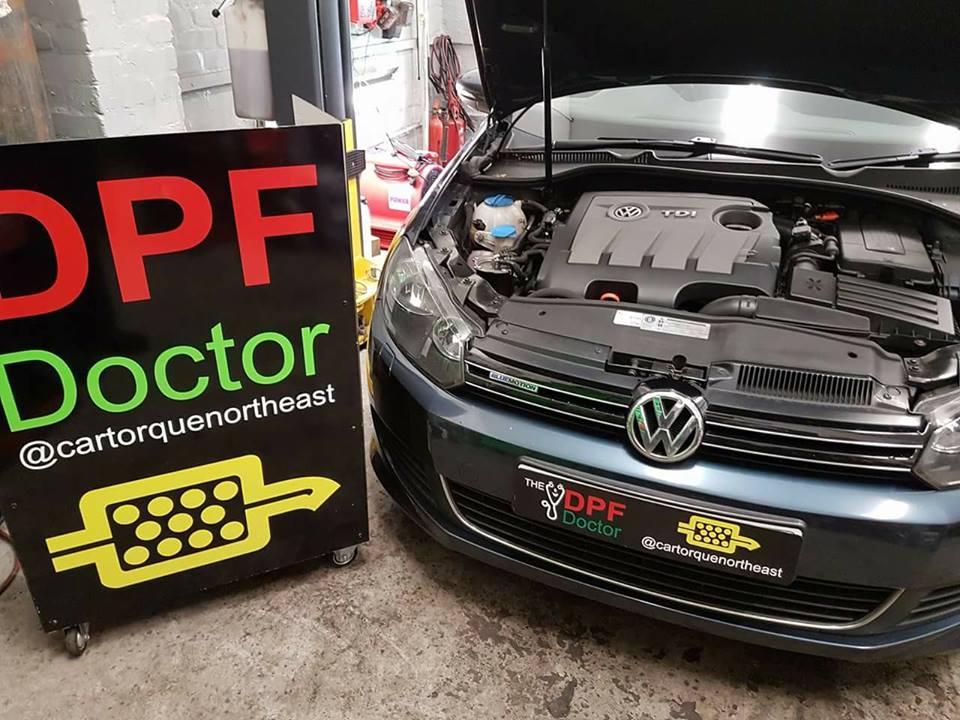 DPF problem fixed in Newcastle…