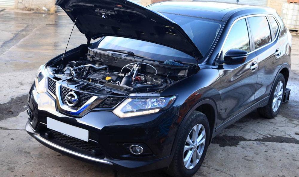 Blocked DPF Nissan X-Trail