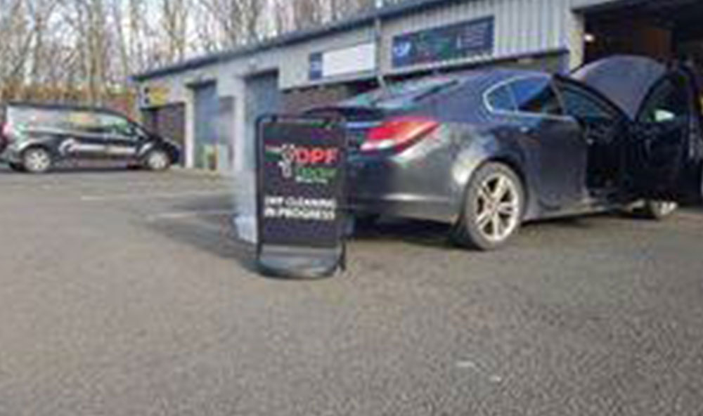 Vauxhall Insignia DPF cleaning & repair in Ashington.