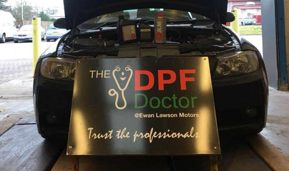 BMW 318 with DPF Problems in Falkirk