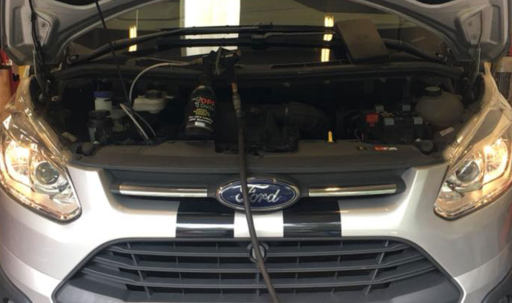 2013 Ford Transit Custom DPF Fault Fixed and Cleaned in Falkirk