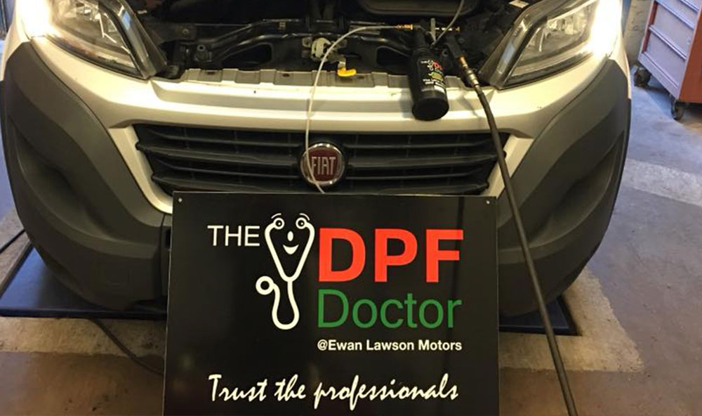 Blocked DPF on Fiat Ducato – Fixed the same day in Falkirk