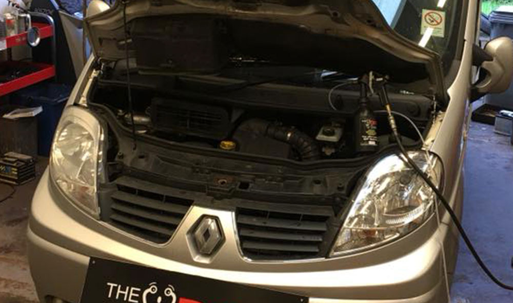 Renault Traffic DPF Cleaned in Falkirk, Stirlingshire