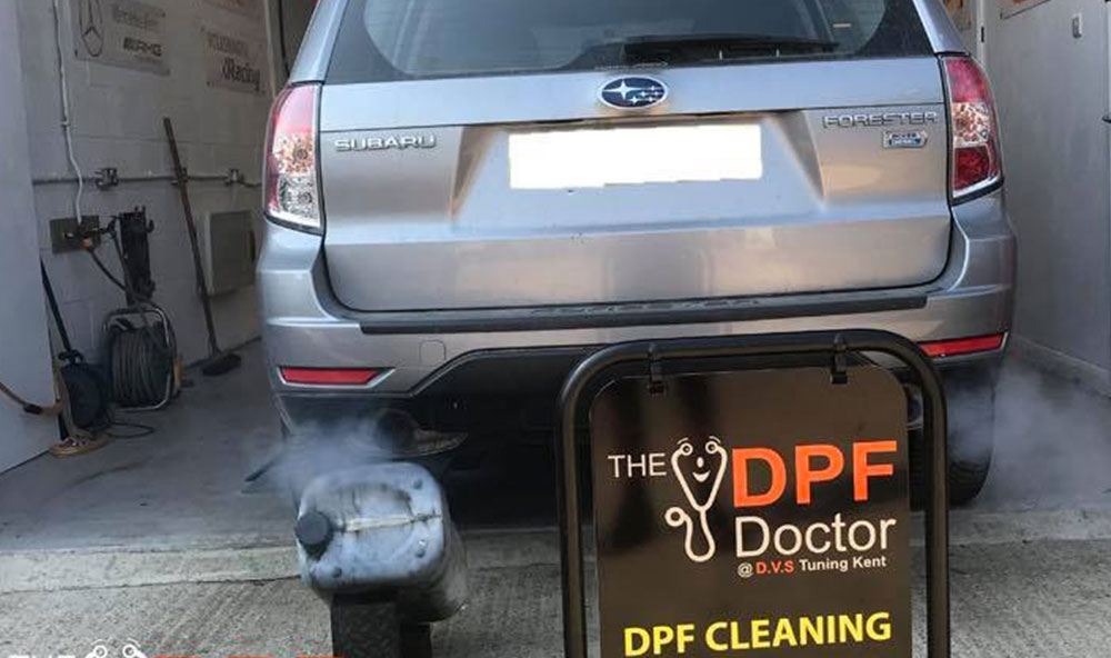 Subaru Forester 2.0 Boxer Diesel with Fault Code P1469 Fixed and Cleaned