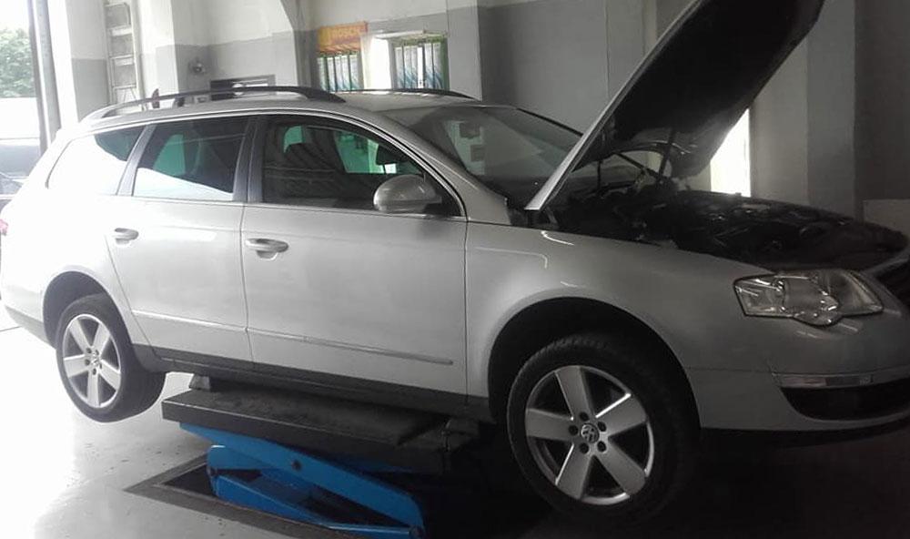 VW Passat DPF Cleaned