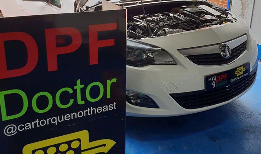 Vauxhall Astra in with DPF Blocked, Fixed & Cleaned in Newcastle