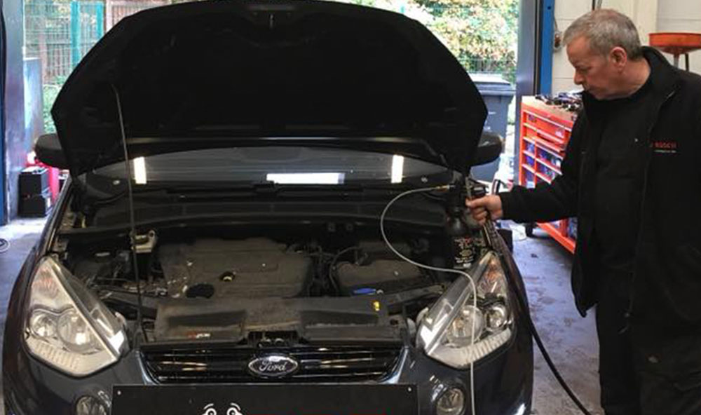 Ford S-Max with Faults Rectified and a DPF Clean in Falkirk
