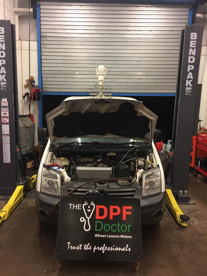 Badly Blocked DPF Repaired and Cleaning in Falkirk
