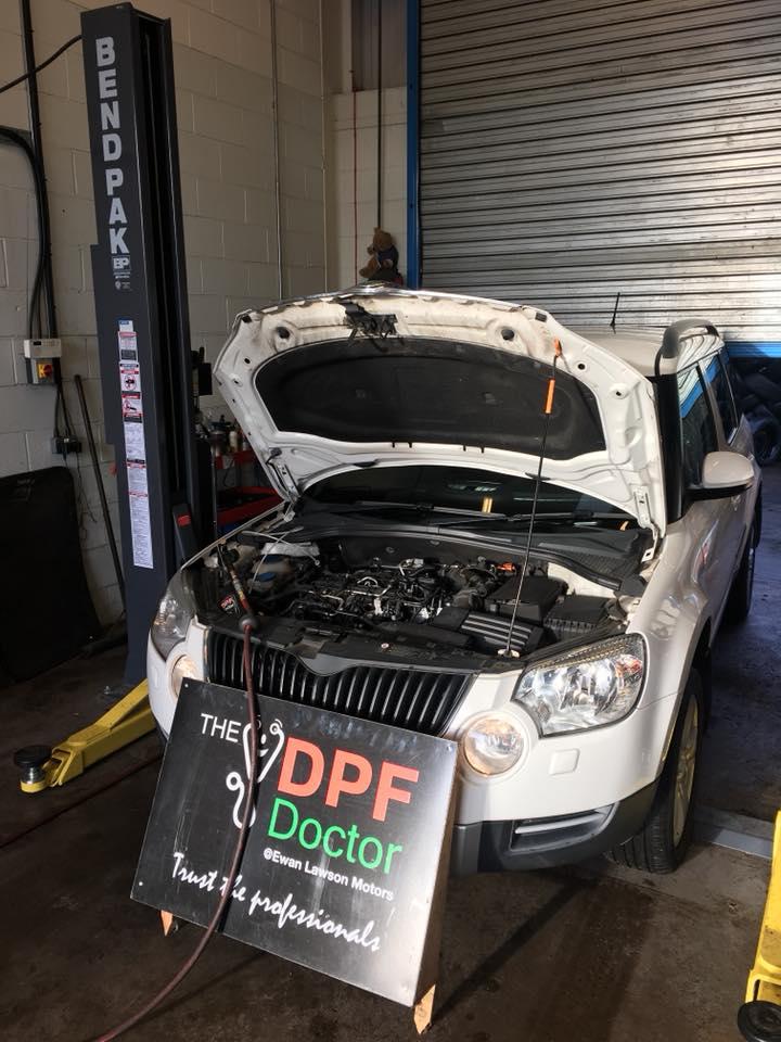 DPF Clean Skoda Yeti in Falkirk
