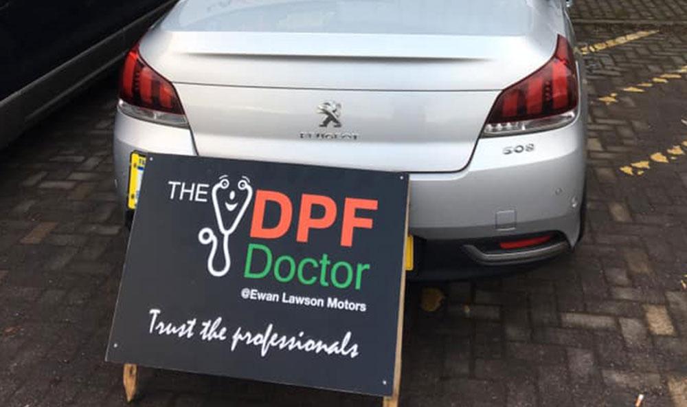 2014 Peugeot 508 DPF Fixed in Falkirk