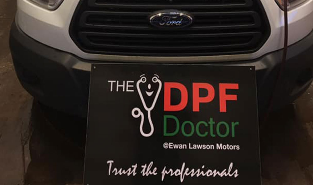 Ford Transit Minibus DPF Fixed and Cleaned