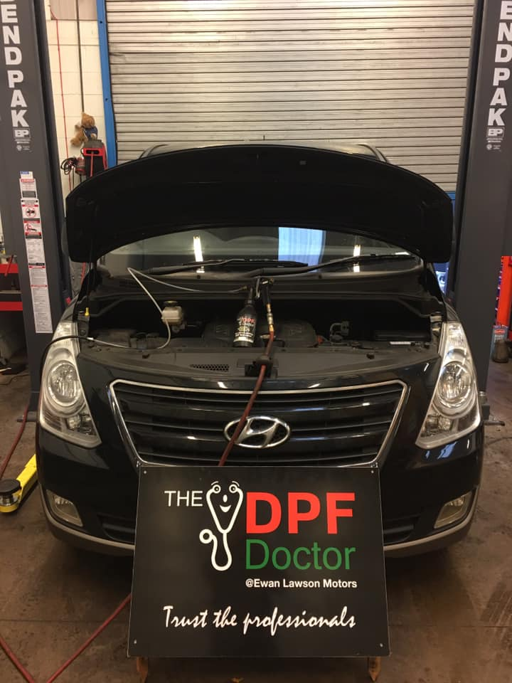 Hyundai DPF Cleaning in Falkirk