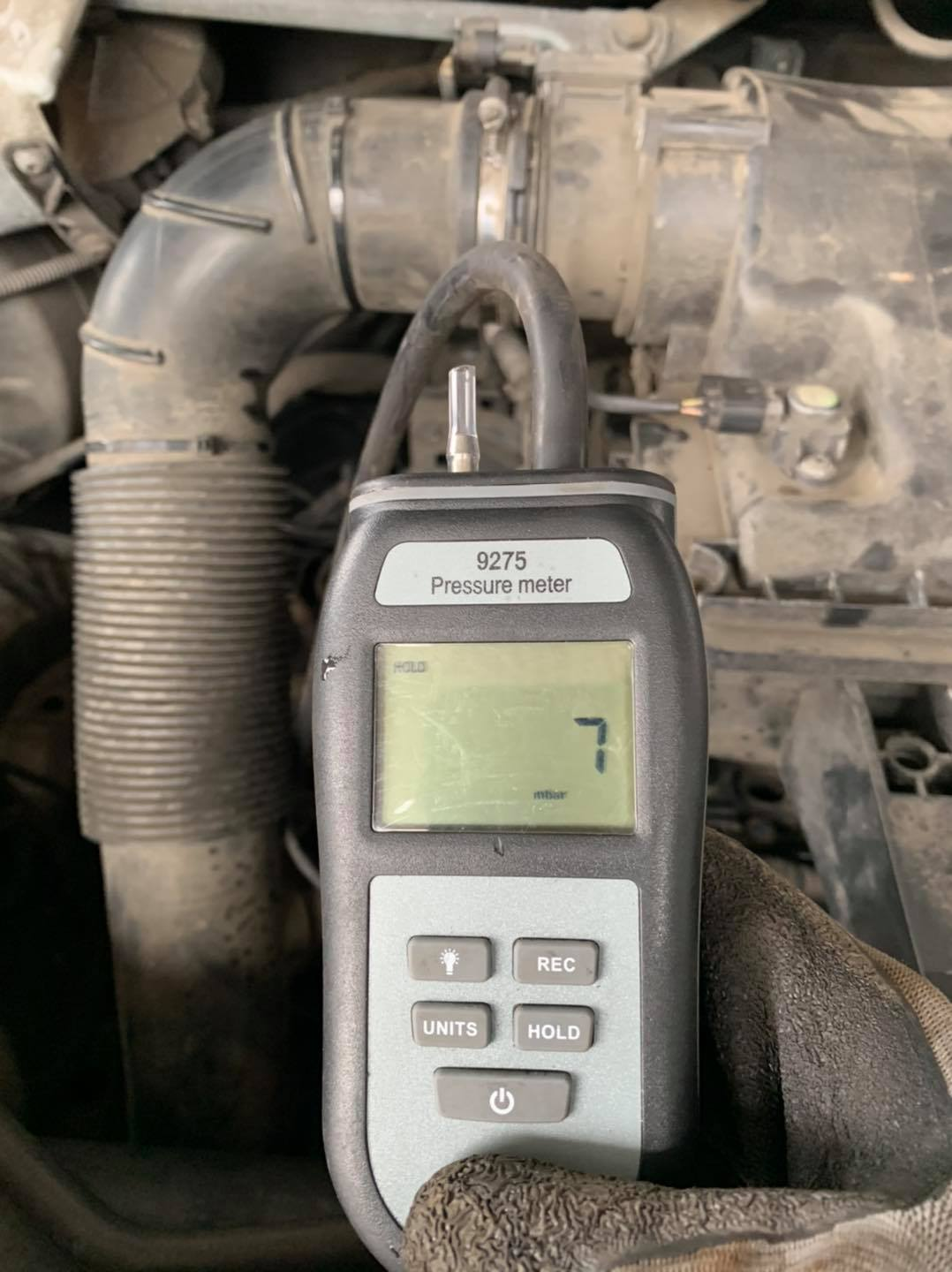 Blocked DPF - Fixed - Showing low pressure after DPF Clean