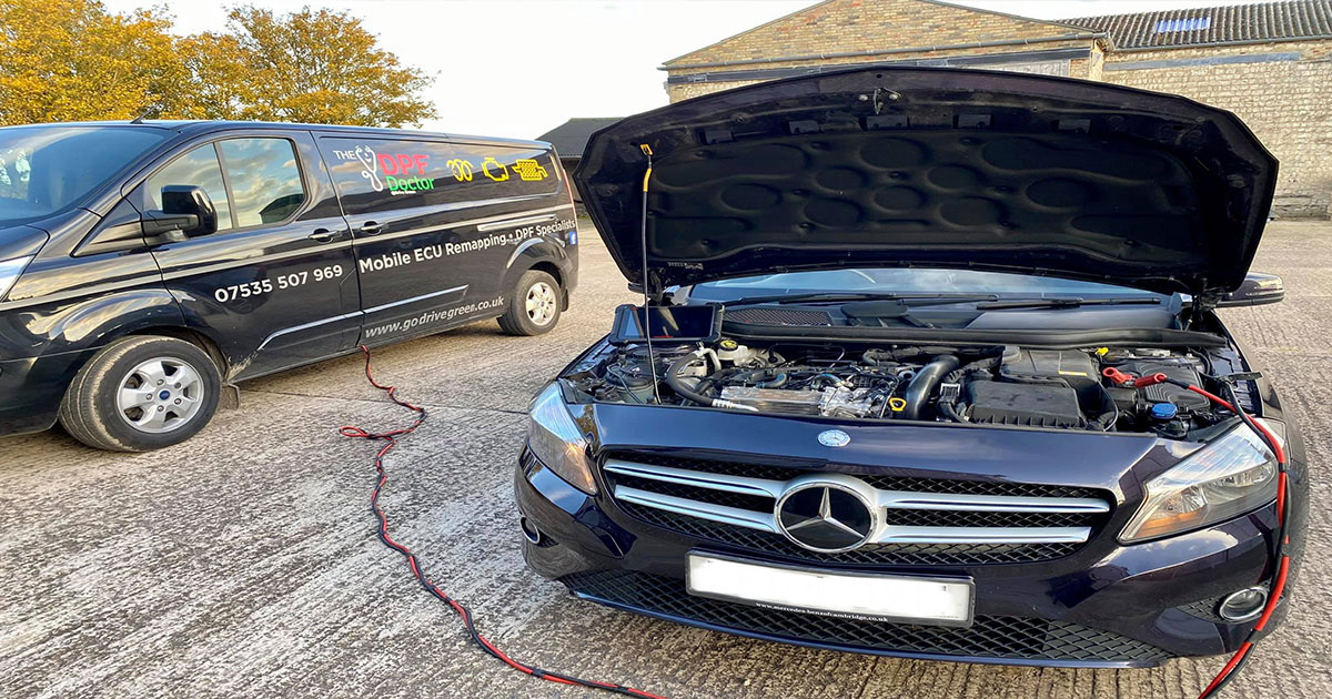 We saved this Mercedes owner over £2,000 with out DPF Assessment and Clean